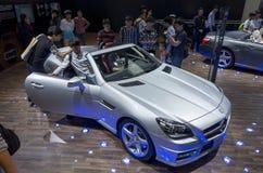 Mercedes-Benz SLK200 Luxury Sport coupe Stock Photos