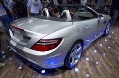 Mercedes-Benz SLK200 Luxury Sport coupe Stock Photo