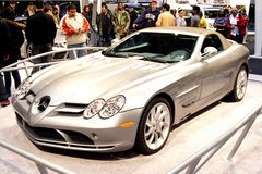Mercedes Benz SLR McLaren Royalty Free Stock Photography