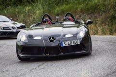 Mercedes-Benz SLR McLaren mille miglia 2015 Royalty Free Stock Images