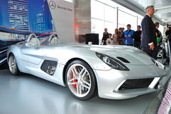 Mercedes-Benz SLR McLaren Stirling Moss Stock Photos