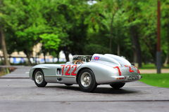 Mercedes-Benz 300 SLR Mille Miglia winner Sir Stirling Moss Royalty Free Stock Photos