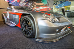Mercedes Benz SLR in Phillip Island Grandprix Circuit Lizenzfreie Stockbilder