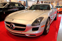 Mercedes-Benz SLS-63 AMG (2010) Royalty Free Stock Images
