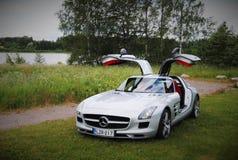 Mercedes-Benz SLS AMG Photographie stock libre de droits