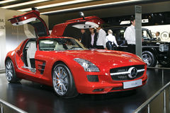 MERCEDES-BENZ SLS AMG Stockbild