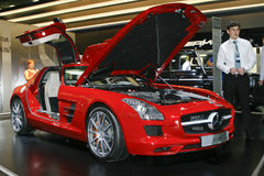 Mercedes-Benz SLS AMG Stock Images