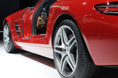 Mercedes benz  sls amg Stock Photography