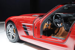Mercedes benz  sls amg Royalty Free Stock Photography