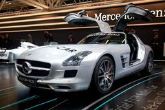Mercedes Benz SLS AMG Royalty Free Stock Image