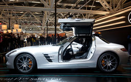 Mercedes Benz SLS AMG Stock Image