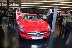 Mercedes Benz SLS AMG Stock Photo