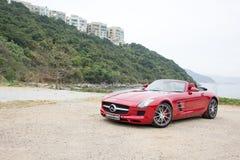 Mercedes-Benz SLS AMG 2012 Image libre de droits