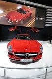 A Mercedes-Benz SLS AMG car Stock Photography