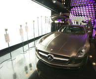 Mercedes Benz SLS AMG car Royalty Free Stock Images