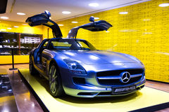 Mercedes-Benz SLS AMG Stock Photo