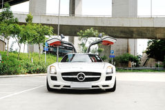 Mercedes-Benz SLS AMG Coupe Royalty Free Stock Photography