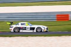 Mercedes-Benz SLS AMG GT3 Image libre de droits