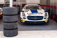 Mercedes-Benz SLS AMG GT3 Photo stock