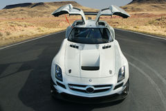 Mercedes Benz 2014 SLS AMG GT3 Photo stock