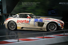 Mercedes Benz SLS AMG GT3 Black Falcon Royalty Free Stock Photos