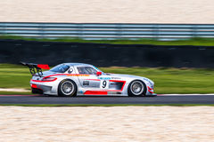 Mercedes-Benz SLS AMG GT3 Royalty Free Stock Images
