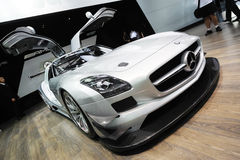 Mercedes benz  SLS AMG GT3 Royalty Free Stock Image