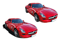 Mercedes-Benz SLS AMG Royalty Free Stock Photos