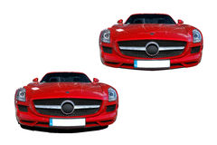 Mercedes-Benz SLS AMG Royalty Free Stock Photography