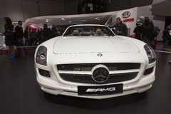 Mercedes-Benz SLS AMG Roadster Royalty Free Stock Photos