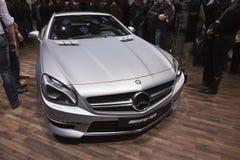 Mercedes-Benz SLS AMG Roadster stock image