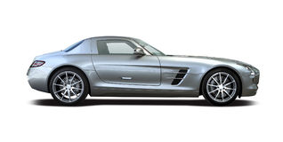 Mercedes-Benz SLS AMG Stock Photos
