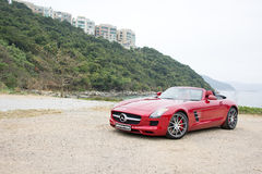 Mercedes-Benz SLS AMG 2012 Royalty Free Stock Image