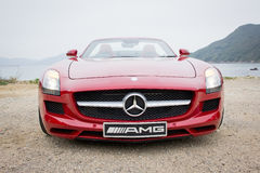 Mercedes-Benz SLS AMG 2012 Royalty Free Stock Photo