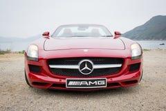 Mercedes-Benz SLS AMG 2012 royalty free stock photo