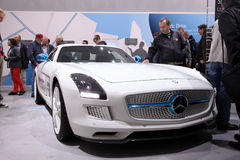 Mercedes Benz SLS Electric Drive Royalty Free Stock Photo