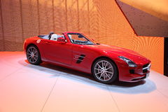 Mercedes Benz SLS Sportscar Stock Photos