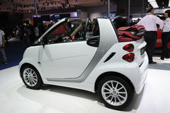 Mercedes benz  smart car Royalty Free Stock Photo