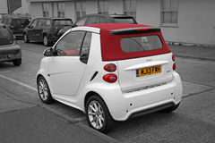 Mercedes benz smart car Royalty Free Stock Image