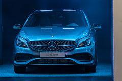 Mercedes Benz A 250 Sport at the IAA 2015 Royalty Free Stock Photo