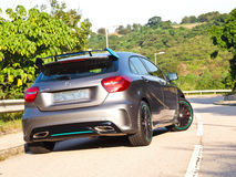Mercedes-Benz A 250 Sport 2015 Test Drive Day Stock Photo
