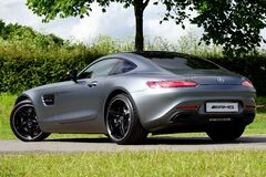 Mercedes Benz sports car Royalty Free Stock Photography