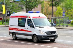 Mercedes-Benz Sprinter Royalty Free Stock Photography