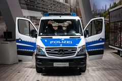 Mercedes Benz Sprinter 316 CDI Polizei van Stock Photo