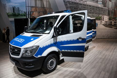 Mercedes Benz Sprinter 316 CDI Polizei van Royalty Free Stock Image