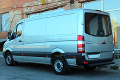 Mercedes-Benz Sprinter 316 CDI 2012 silver Royalty Free Stock Images