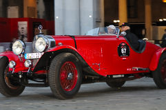 Mercedes Benz SS at 1000 Miglia royalty free stock image