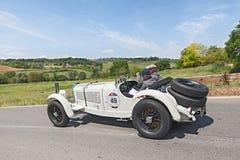 Mercedes-Benz 710 SSK (1928) i Mille Miglia 2014 Royaltyfri Bild