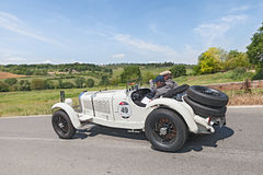 Mercedes-Benz 710 SSK (1928) in Mille Miglia 2014 Royalty Free Stock Image