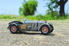 Mercedes-Benz SSKL 1931 racing car Stock Images